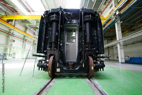 Fotografie, Obraz Kazakhstan, Nur-sultan locomotive-building plant