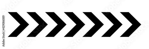 Fotografia, Obraz Arrow icon