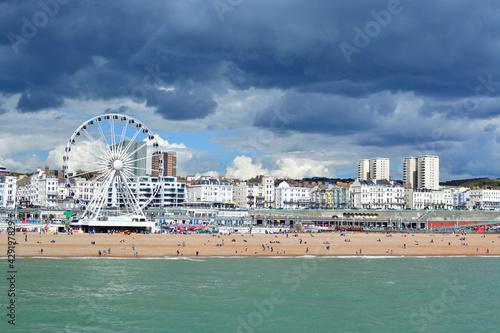 Slika na platnu Beautiful shot of Brighton UK