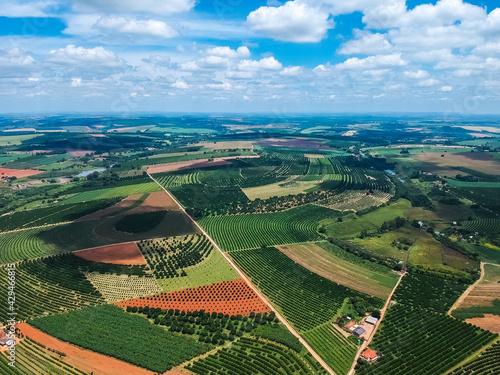 Obraz na płótnie agricultura  do interior de São Paulo