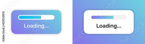 Fotografie, Obraz loading bar progress icon