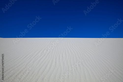 Fotografering White sand dunes