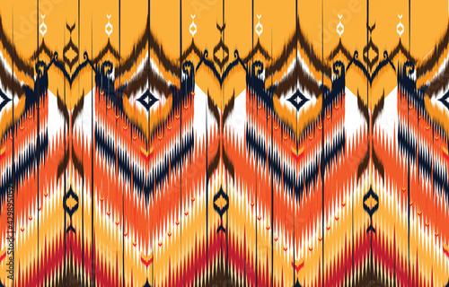 Fotografie, Obraz Tribal vector ornament
