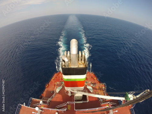 Fotografering view of a ship