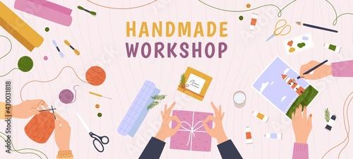 Fényképezés Creative craft workshop