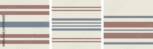 Fotografia Vector seamless french farmhouse textile pattern