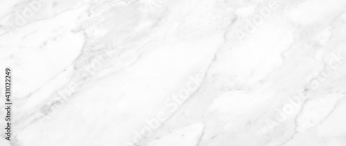 Fotografia Marble granite white panorama background wall surface black pattern graphic abstract light elegant gray for do floor ceramic counter texture stone slab smooth tile silver natural