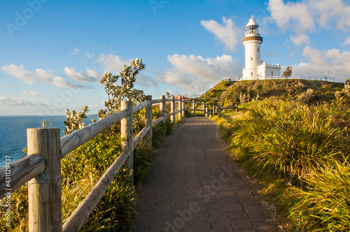 Fotografie, Tablou Morning view of Byron Bay Lighthouse, the most eastern mainland of Australia, New South Wales, Australia