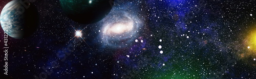 Canvas High quality space background