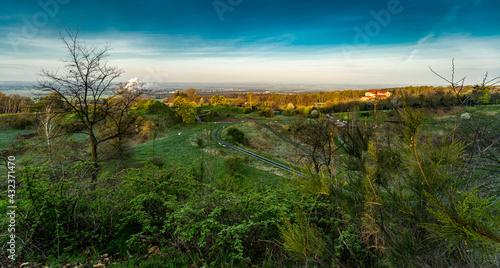pejzaż z Góry św. Anny w województwie opolskim