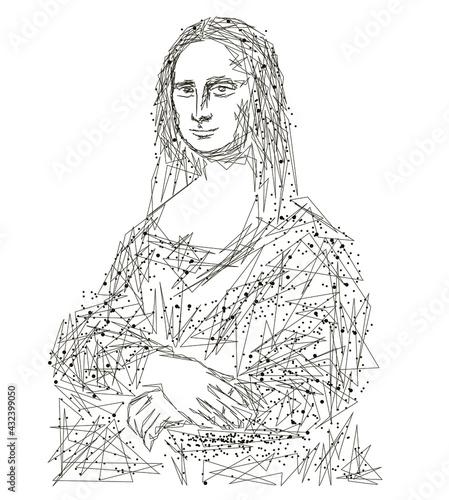 Photo Mona Lisa - Gioconda by Leonardo da Vinci