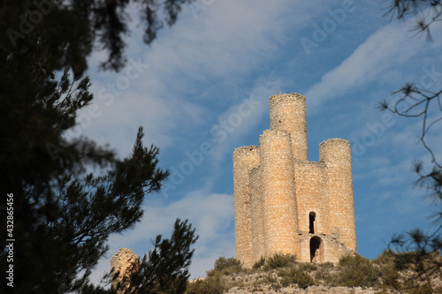 Fotografie, Obraz The tower of the Alarconcillos, is a defensive tower, built in the XIV century,