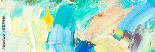 Photo Abstract music background with impasto textures