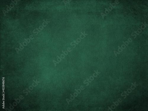 Fotografia, Obraz Hunters green color paper texture background, Hunters green paper surface for ar