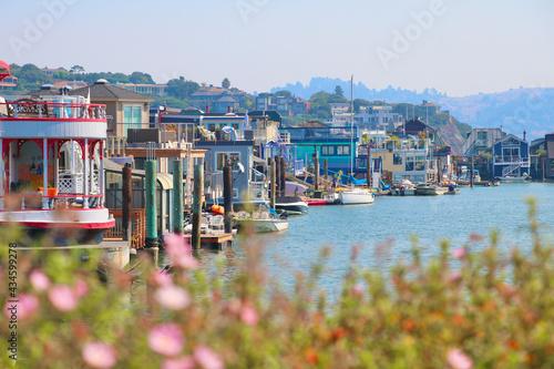 Foto Boat Houses, Sausalito, CA, USA