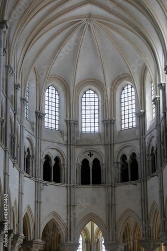 Canvas Print Saint Mary Magdalene basilica, Vezelay, France. Apse