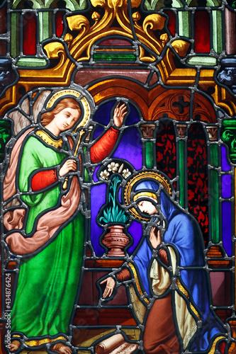 Fotografie, Obraz Notre Dame ( our Lady ) d'Aix les Bains church