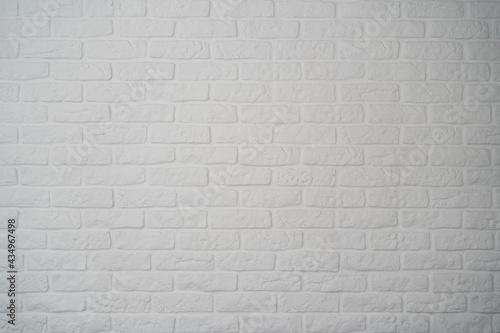 Fototapeta premium biała ceglana ściana, tło