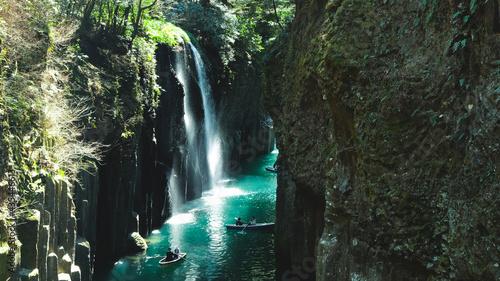 Slika na platnu The place in Japanes's god story