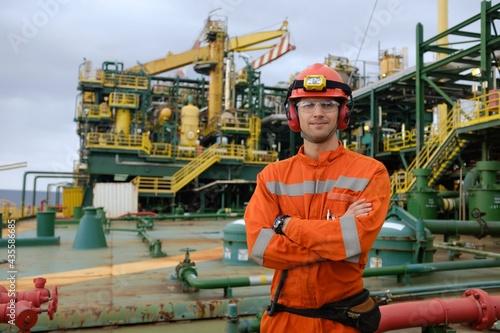 Offshore technician Fototapeta