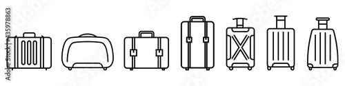 Stampa su Tela Baggage icon