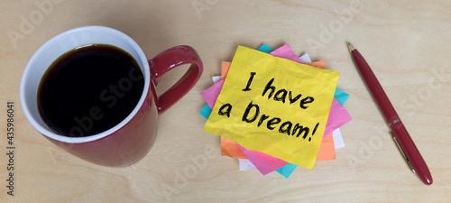 Stampa su Tela I have a Dream!
