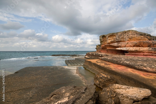 Fotografia, Obraz Kerpe Rocks and Pink Rocks