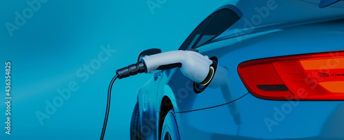 Fotografie, Obraz Charger for electric cars