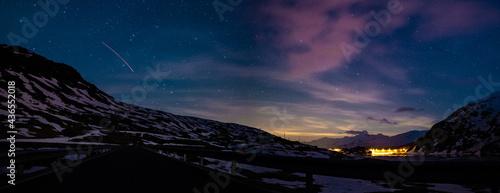 Tableau sur Toile La magia della notte - Valle Spluga