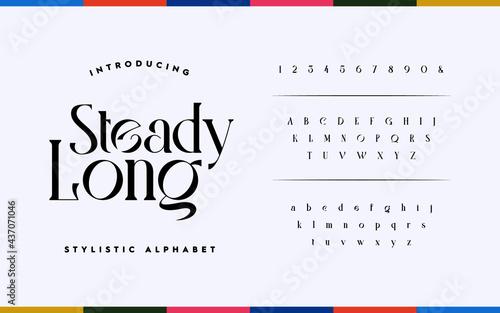 Fotografia Classic lettering minimal fashion design