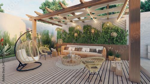Fotografia terrace