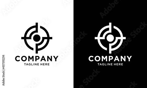 Obraz na plátne Archer Logo Template Design Vector, Emblem, Design Concept, Creative Symbol, Icon