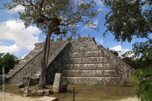 Tablou Canvas Tomb of the high priest in Chichen Itza