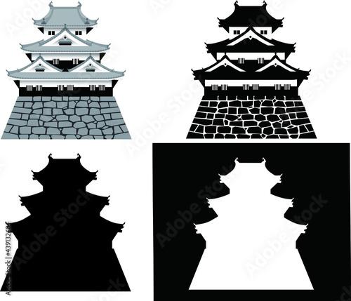 Fotografie, Obraz 日本の城・天守・櫓
