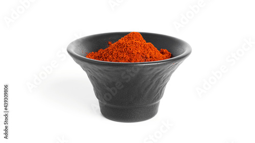 Fotografie, Obraz Paprika isolated on a white background. Spices.