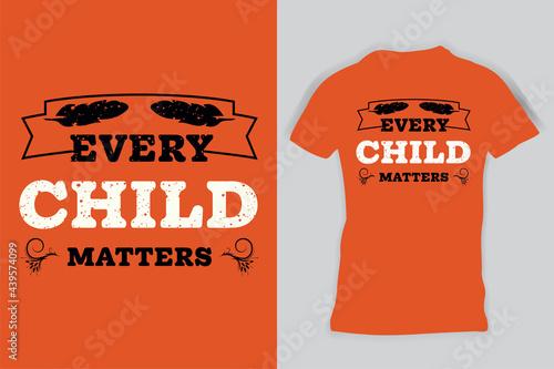Every Child Matters Shirt, Orange Shirt Day Shirt, Orange T-Shirt Kids, Child Sh Fototapete