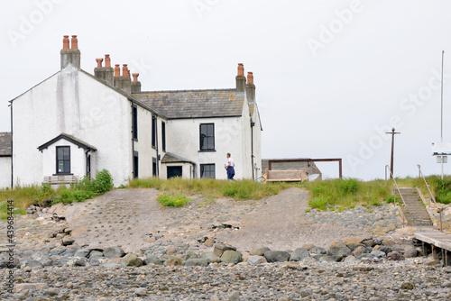 Piel Island Pub, Barrow in Furness, England, UK Fototapeta