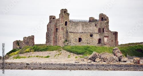 Obraz na płótnie Piel Island, Barrow in Furness,  Cumbria, england, UK