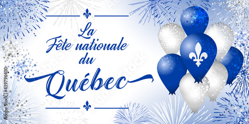 Fotografia Quebec's National Holiday