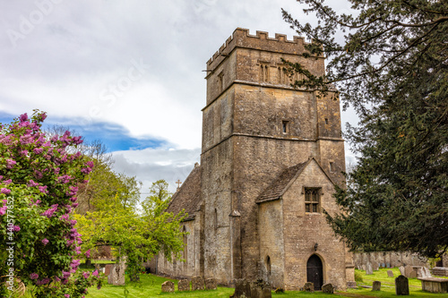 Photo St Mary Magdalene a 12th Century church in Tormarton which is a village in South