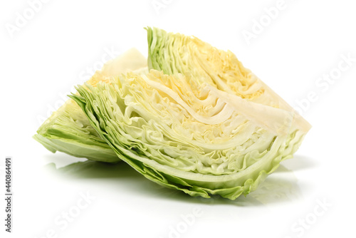 Foto cabbage isolated on white background