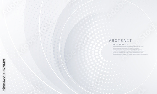Abstract white background poster beauty with dynamic. technology network Vector illustration.