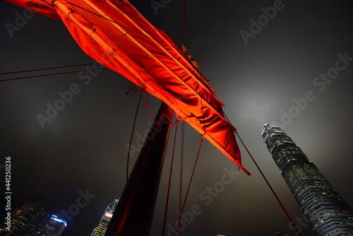 Obraz na plátně Barco Hong Kong