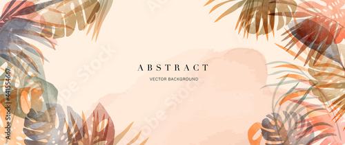 Fotografie, Obraz summer tropical background vector