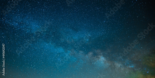 Wallpaper Mural On the starry night sky, the Milky Way