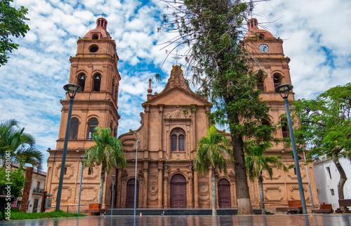 Valokuvatapetti Catedral Santa Cruz de la Sierra