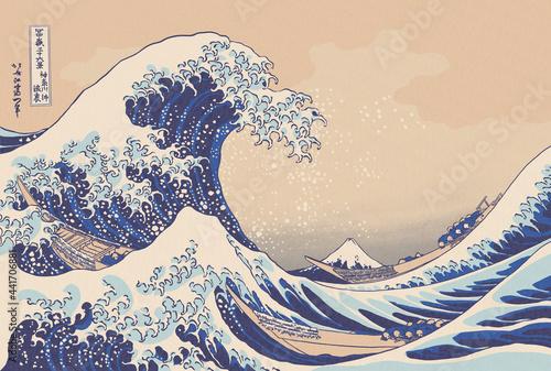 The Great Wave off Kanagava Fototapeta