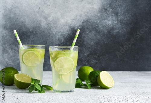 Tablou Canvas Iced tea with lime