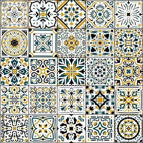 Wallpaper Mural Azulejo tile