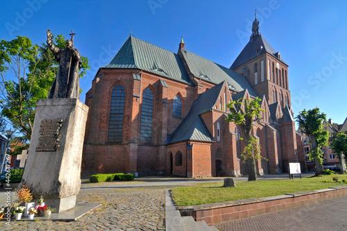 Fototapeta premium Gotycka katedra w Koszalinie